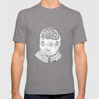 Money  Mens Fitted Tee Tri-Grey SMALL