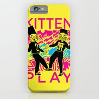 Kitten Play iPhone 6 Slim Case