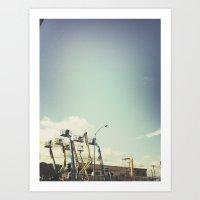 Metal Adolescent Bronoto… Art Print