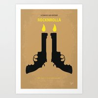 No071 My Rocknrolla Mini… Art Print