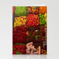 Colorful Candies Stationery Cards