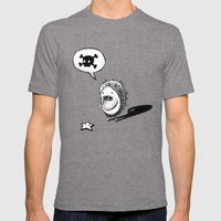 Oh! Mens Fitted Tee Tri-Grey SMALL