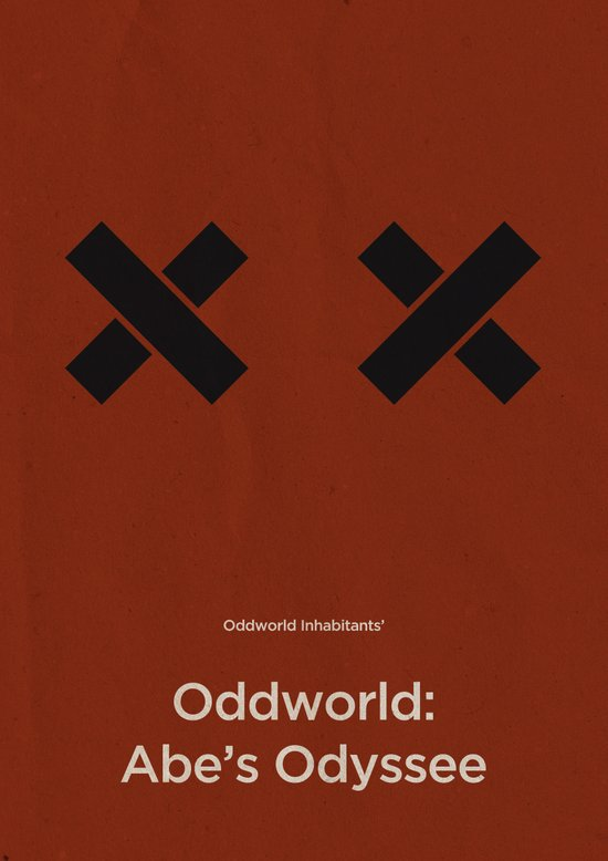 Oddworld Inhabitants' Oddworld: Abe's Odyssee Art Print