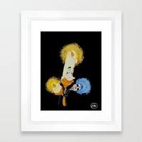 Who Dis Doctor 9 Framed Art Print