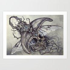 Memento Lucanidae Art Print