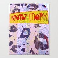 Motor Mark Canvas Print