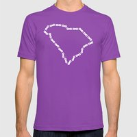 Ride Statewide - South C… Mens Fitted Tee Ultraviolet SMALL