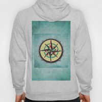 Striped Compass Rose Hoody