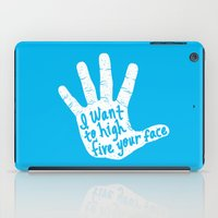 Hand to Face iPad Case