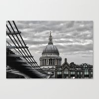 St.Paul's Cathedral In M… Canvas Print