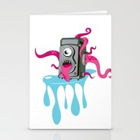 Monster Camera Stationery Cards