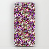 JOYFUL AND DOTTY FLOWER … iPhone & iPod Skin