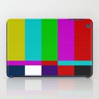 Color Glitch iPad Case