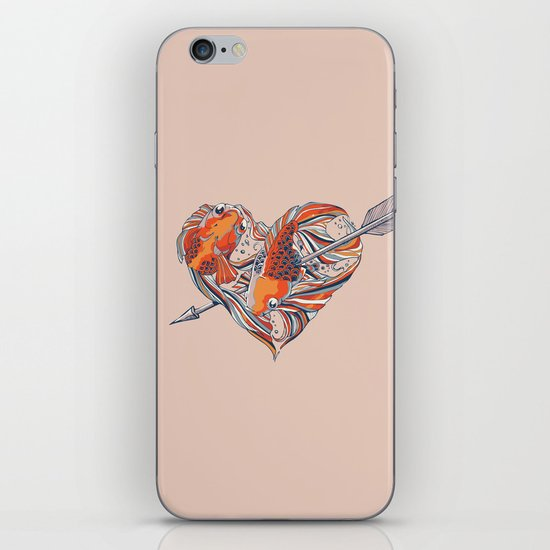 Form of Love iPhone & iPod Skin