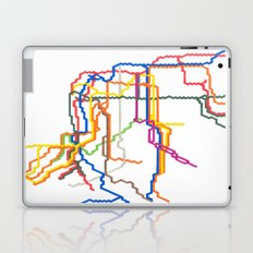 NYC Subway System (Complete) Laptop & iPad Skin