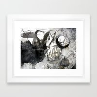 Abstrakt31 Framed Art Print
