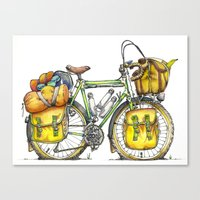 Grand Tourer Canvas Print
