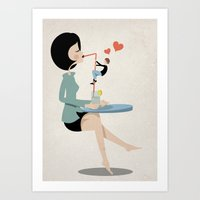 Go And Get It Art Print