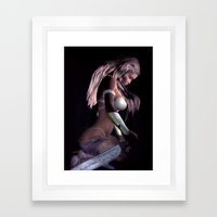 Battle Reflection Framed Art Print