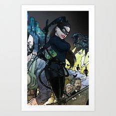 Catwoman Rises - a
