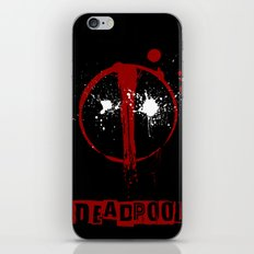 Deadpool. iPhone & iPod Skin