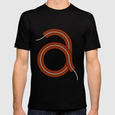 A for Awesome! Mens Fitted Tee Black SMALL