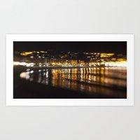 La Concha, San Sebastiá… Art Print