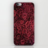 Flower Market 3 - Red Ro… iPhone & iPod Skin