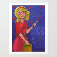 The Curse Of Millhaven Art Print