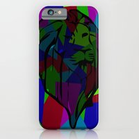 iPhone & iPod Case featuring lion by Lockyisliving