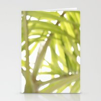 Abstract foliage Stationery Cards