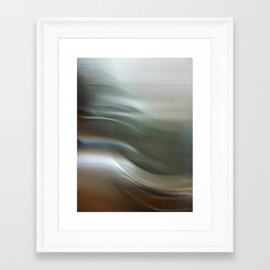 """Ambitions"" Framed Art Print"