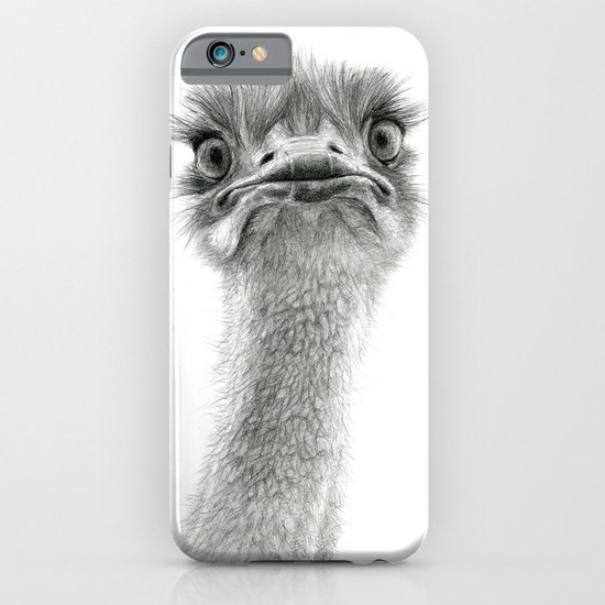 Cute Ostrich SK053 iPhone & iPod Case