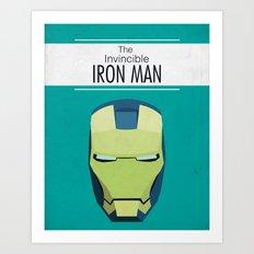 The Invincible Iron Man Art Print