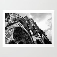 Cathedral of Saint John The Divine  Art Print