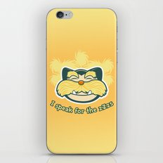 I am the Snorax iPhone & iPod Skin
