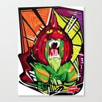 Nalubuff - Battlecat Canvas Print