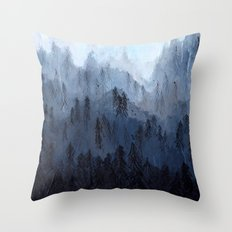 Mists No. 3 Throw Pillow