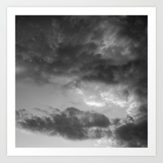 'Clouds 3' Art Print