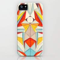iPhone Cases featuring Everything is Fine by Anai Greog