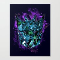 Decepticons Abstractness… Canvas Print