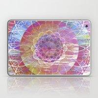 Glitch Mandala Laptop & iPad Skin
