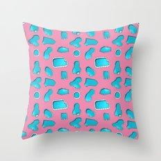 Urban Swimming pool pattern Throw Pillow