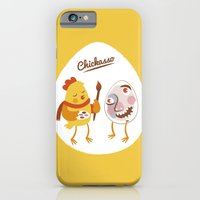 iPhone & iPod Case featuring Chickasso by ellis