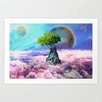 Spectator Of Worlds Art Print