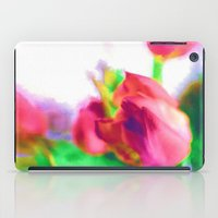 Harborough Tulips - Wate… iPad Case