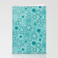Ceramic Flowers (Atoll) Stationery Cards