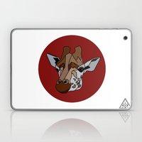 Wild Rectangular Giraffe Laptop & iPad Skin