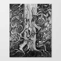 Tree Hugger Canvas Print