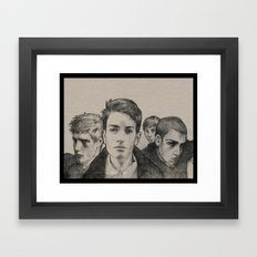 The Raven Boys Framed Art Print